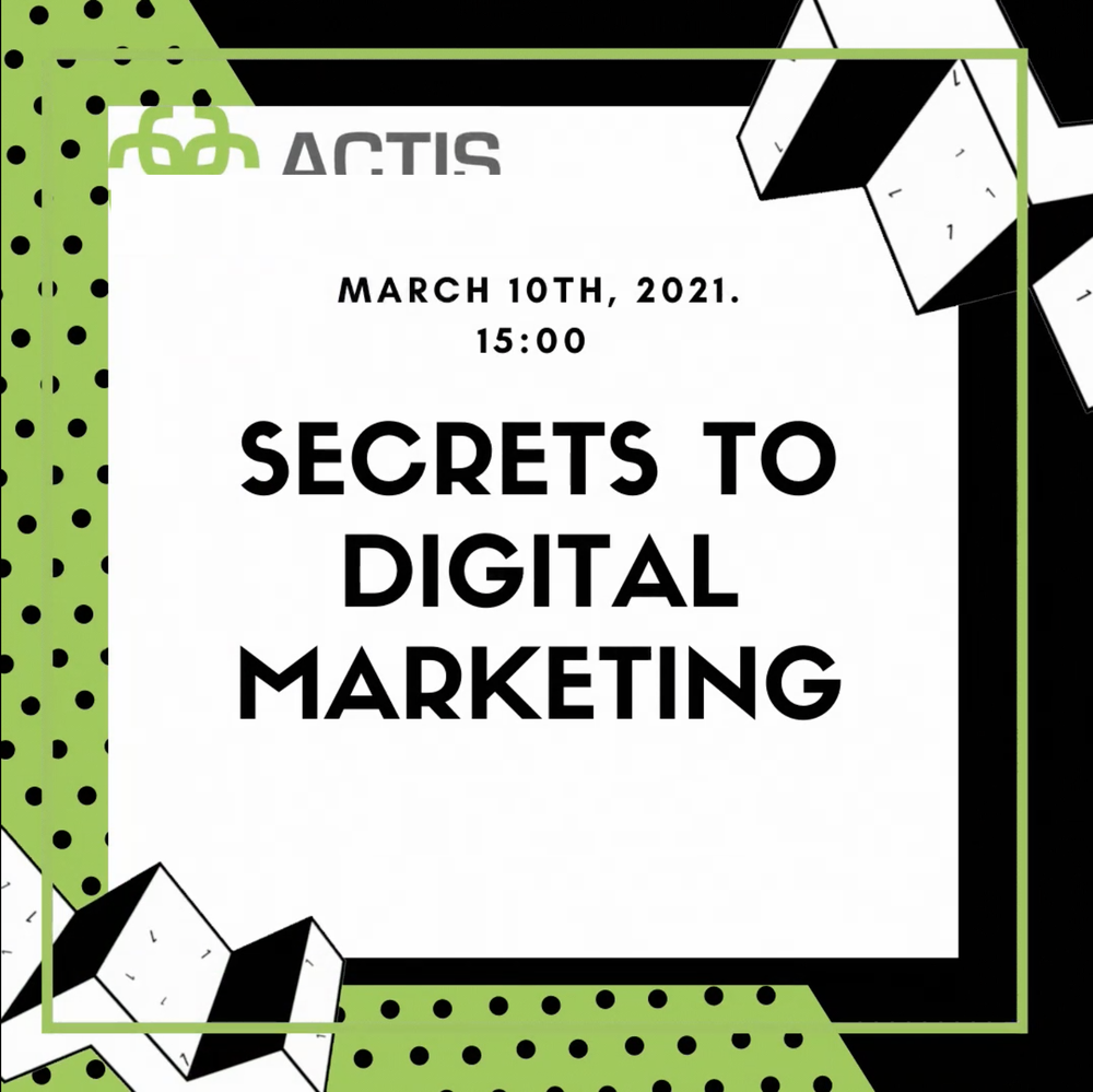 Congres: Secrets to digital marketing