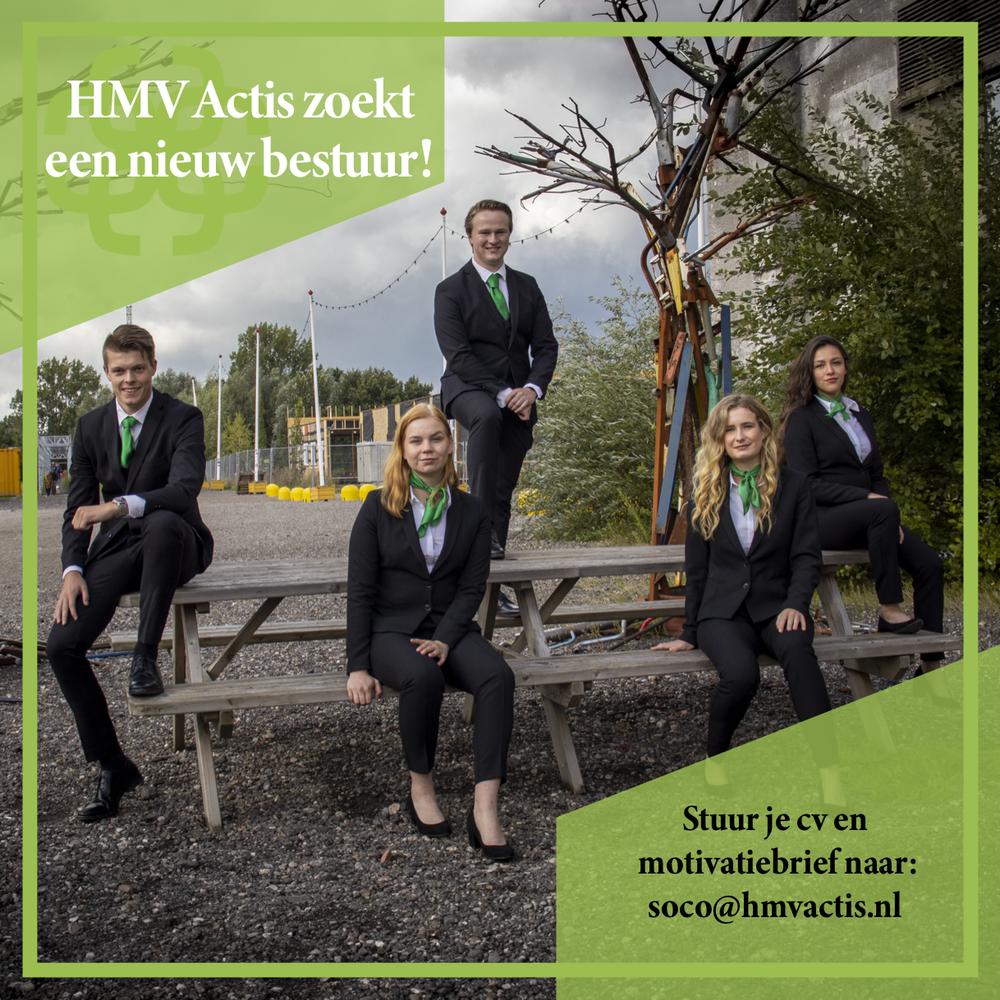 HMV Actis zoekt een nieuw bestuur!