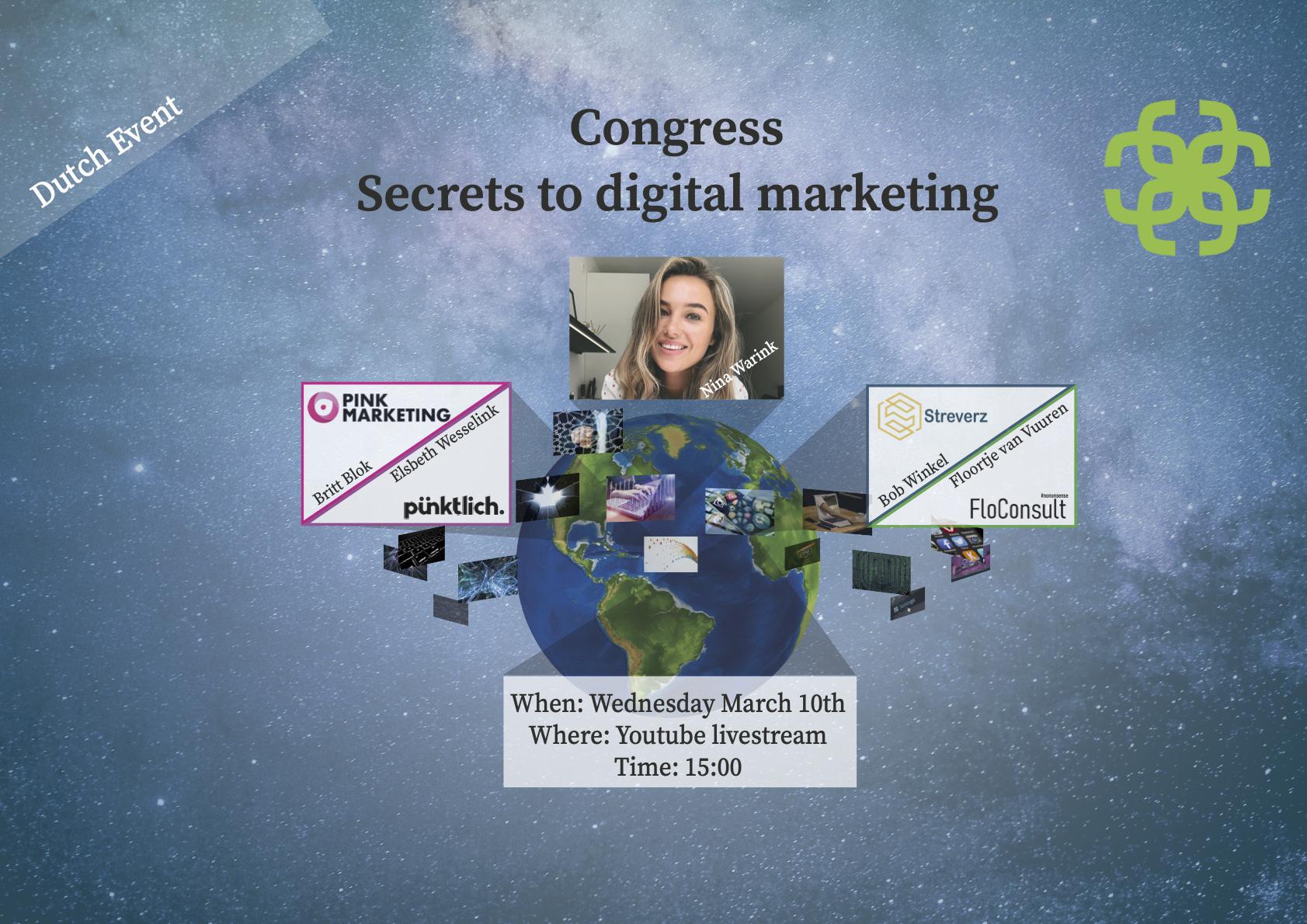 Congres: Secrets to digital marketing