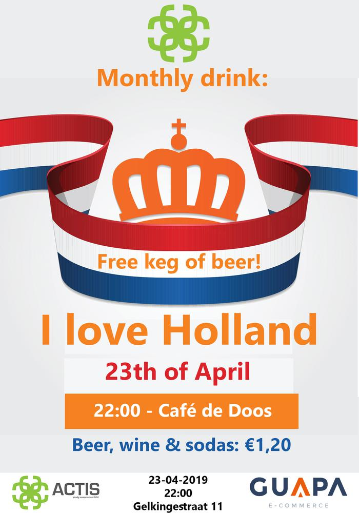Monthly drink: I love Holland