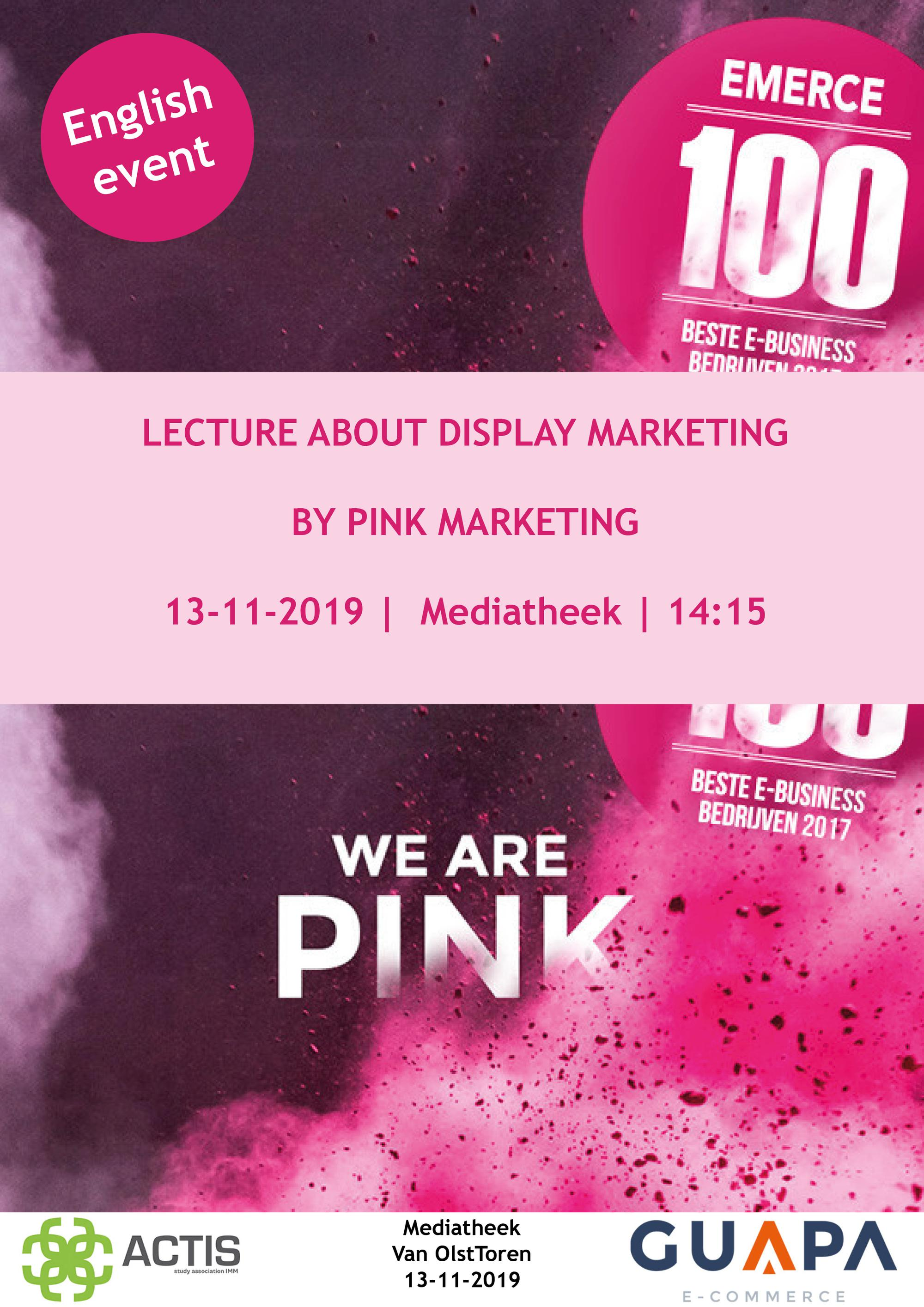 Display marketing lecture