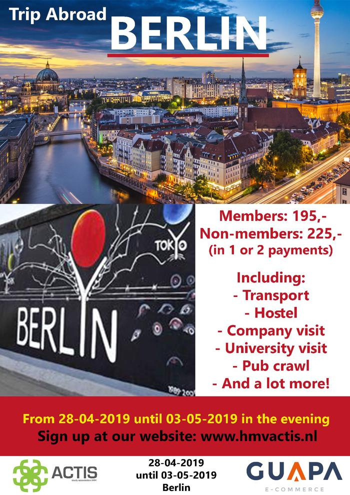 Trip abroad Berlin
