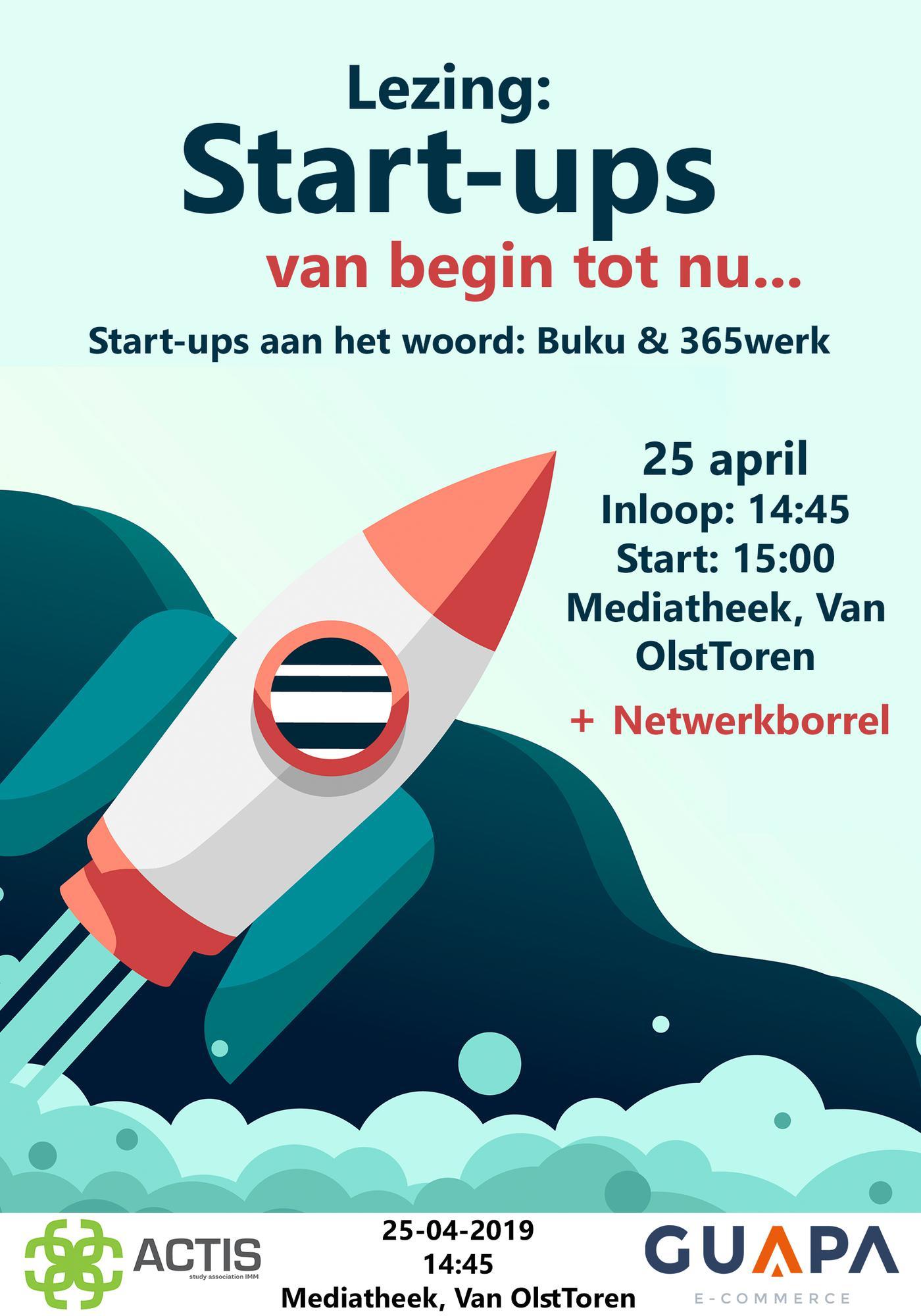 Lecture: Start-ups van begin tot nu